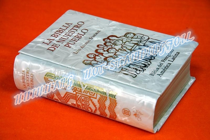 Holographic Hot Stamping Foil for Bookcover