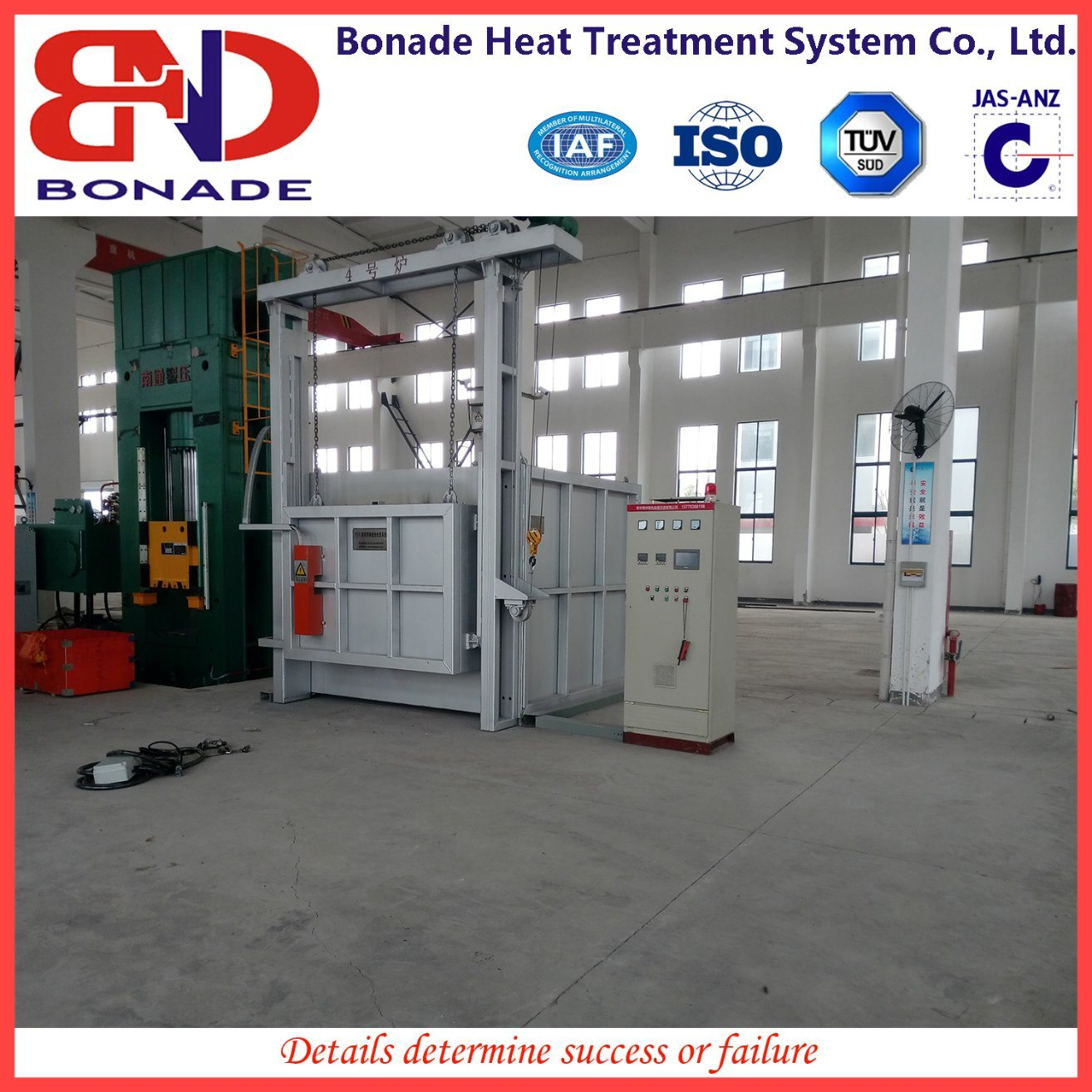 Box Type Heat Treatment Furnace for Tempering Furnace