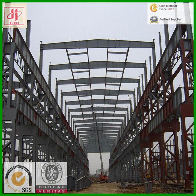 Prefabricated Steel Structure Workshop with SGS Standard (EHSS009)
