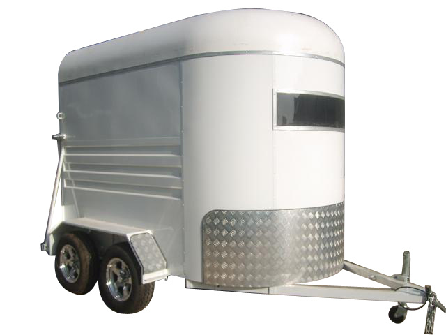 Economic Angle Straight Load Horse Float Trailer