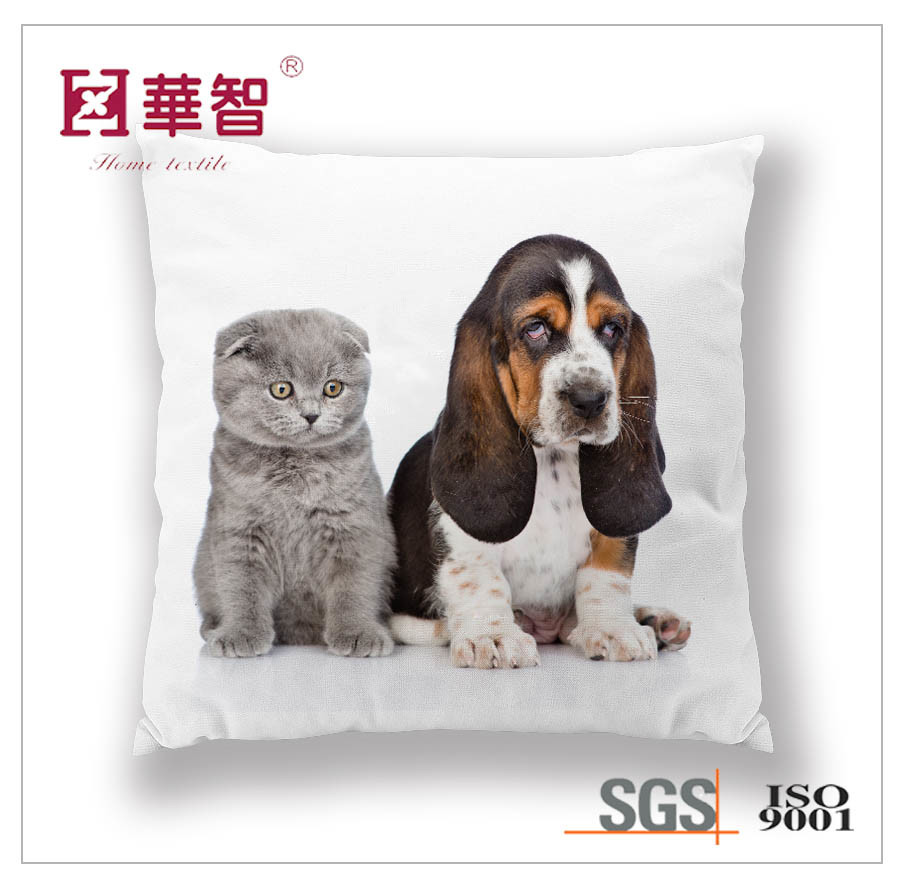 Digital Printed Cushion Cover, Decorative Cushion