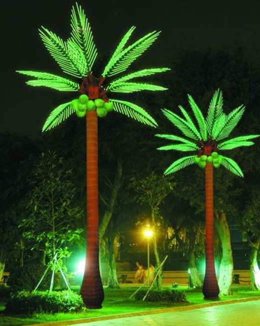 Led Lights For Outdoor Trees :  Outdoor Coconut Tree LightLED Coconut Tree Light  China Led Coconut