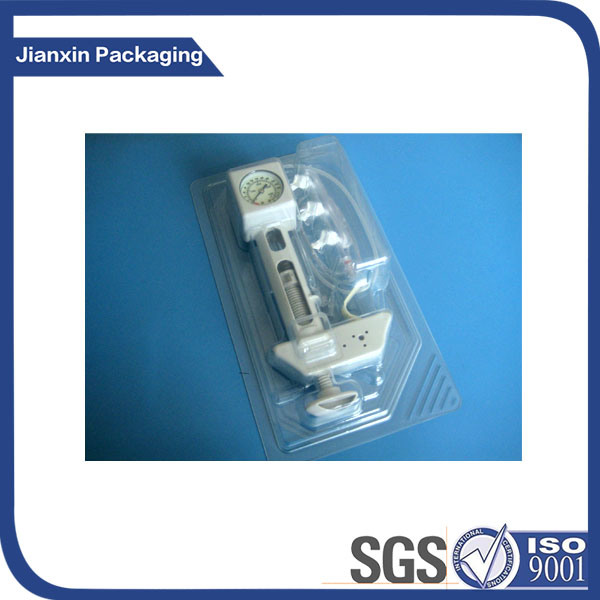 Clear Plastic Clamshell for Battery Charger Packaging