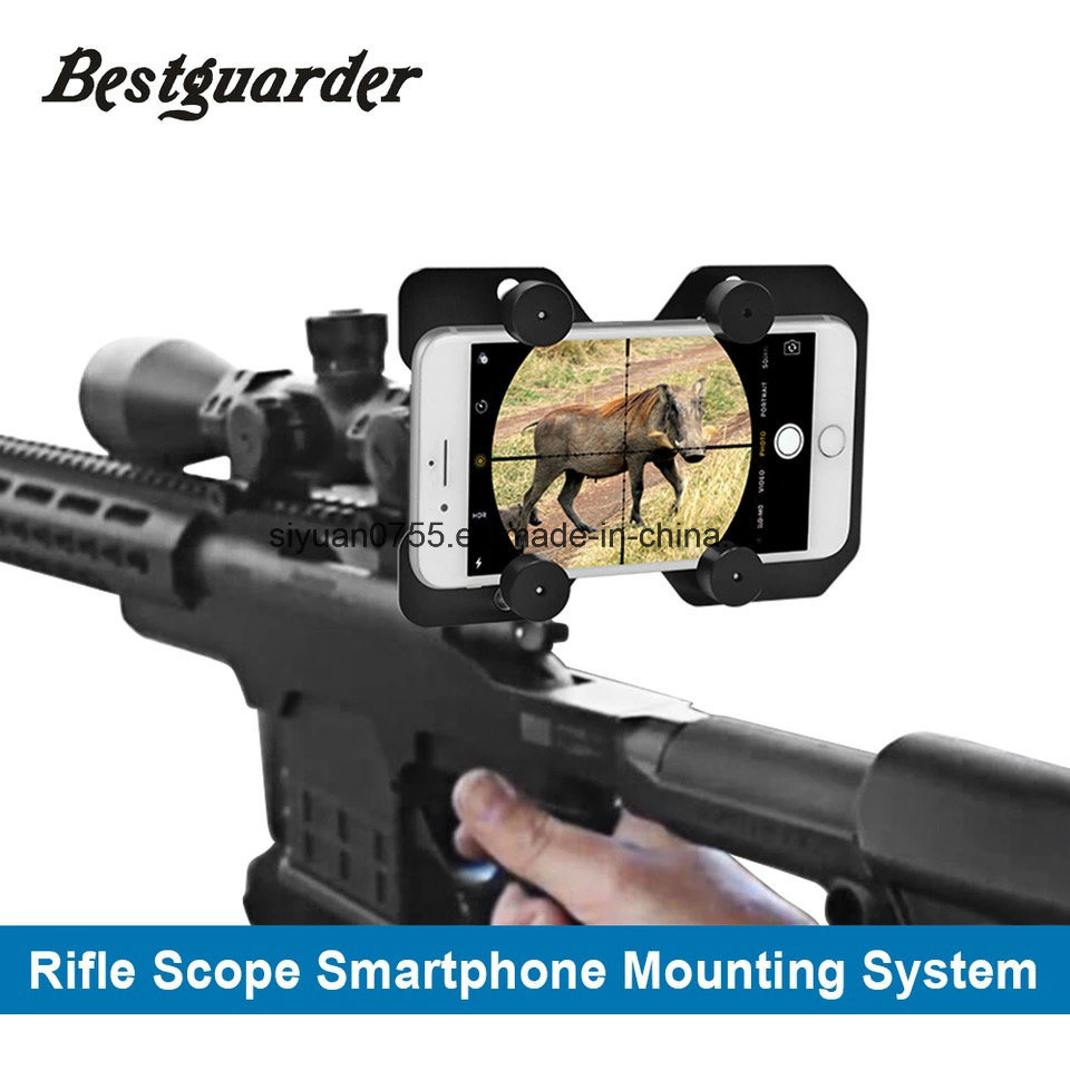Hunting Rifle Scope Mounting Adapter Smart Shoot Scope Mount Adapter-Record The Hunt Via Cell Phone