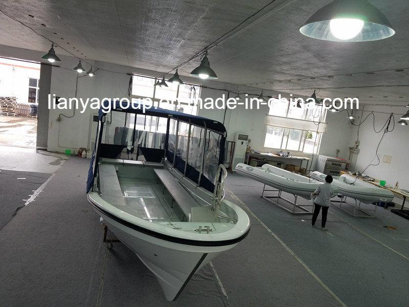 Liya 7.6m Fiberglass Fishing Panga Boat Fishing Boat