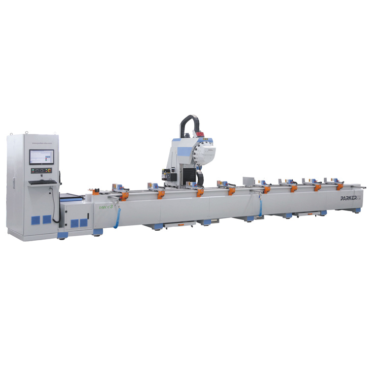 CNC Aluminum Profile Chinese Curtain Wall Drilling Milling Machining Center