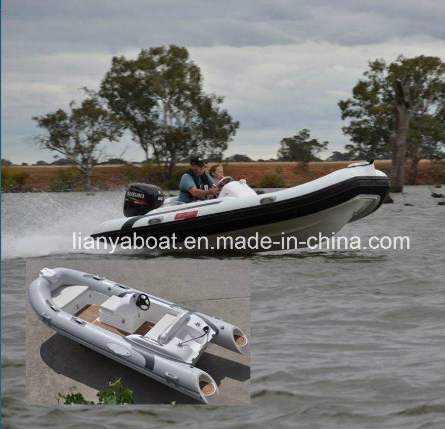 Liya14feet Rigid Inflatable Boat Center Console Rib Boat for Sale