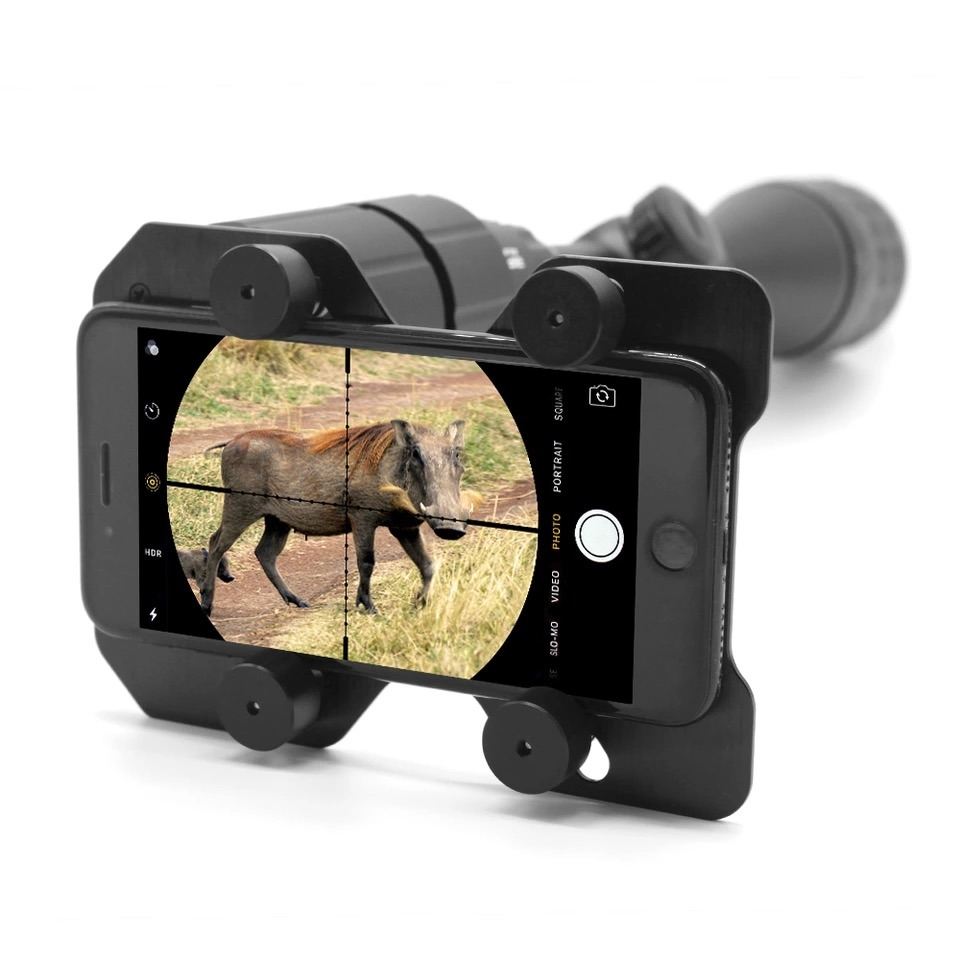 Bestguarder Smart Phone Shoot Adapter for Riflescope for Hunting, Sports Hunting and Airsoft Game