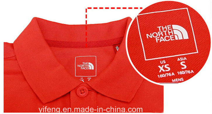 Neck Inside Size Stickers Chest Logo Printing for Clothing Care Labels