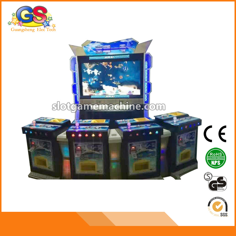 Coin Fish Hunter Arcade Cheats Wooden Boy Video Table King of Treasure Fish Gambling Game for Sale
