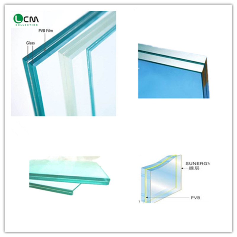 Laminated Glass with Building Curtain Wall Glass
