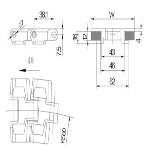 Conveyor Chain (880TAB-K325)