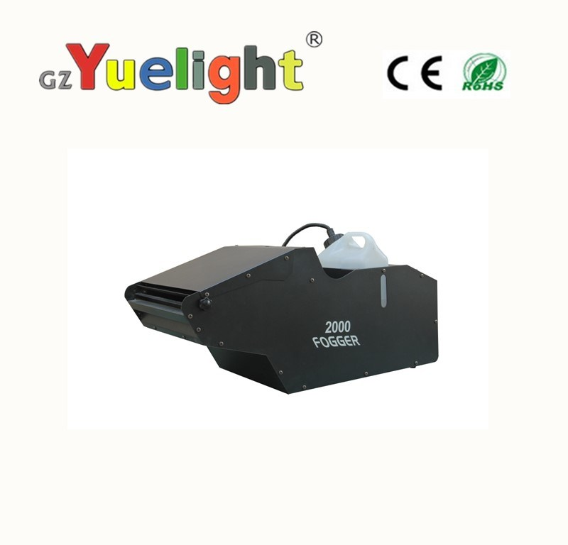 Yuelight Large Power 2000W DMX 512 Mist Fog Machine for Stage Environment