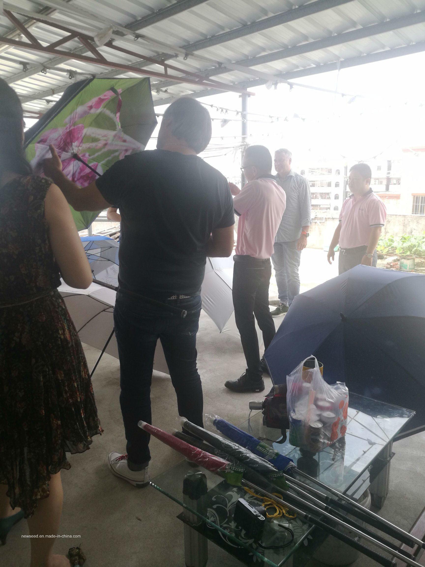 "Outdoor 3 Folding Promotion Gift 21""X8k Umbrella"