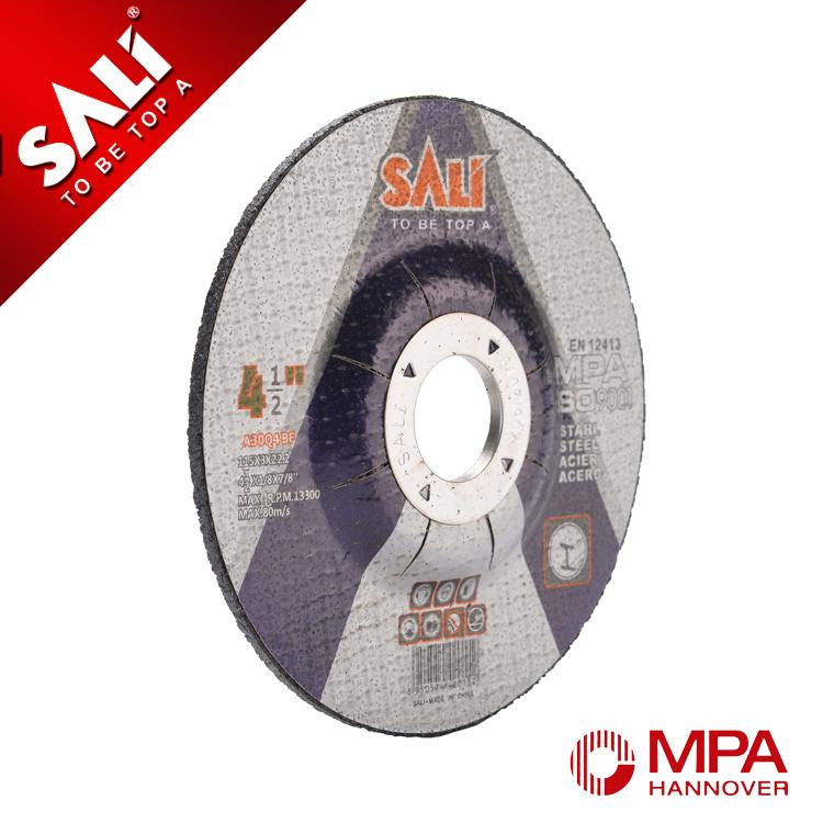 100X3X16mm En12413 Metal Cutting and Grinding Disc in Yongkang
