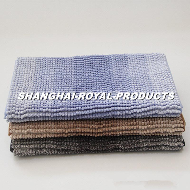 Dry Chenille Bath Mat Floor Mat