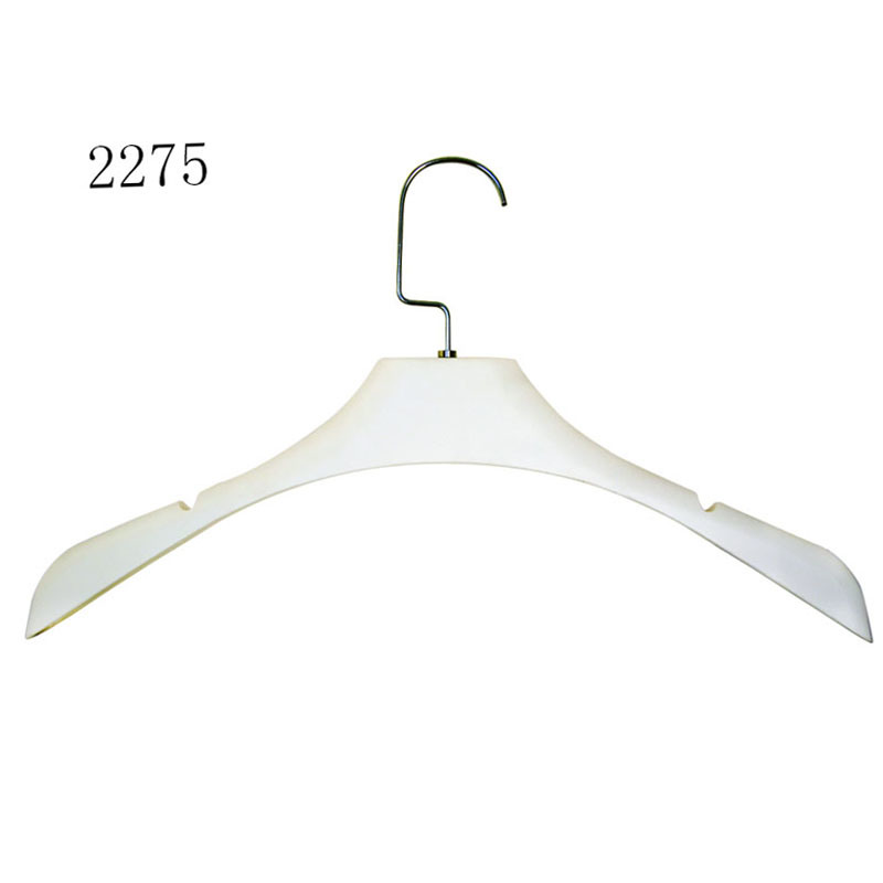Brand Fashion Shop Display Custom Female Dress Plastic Top Hanger