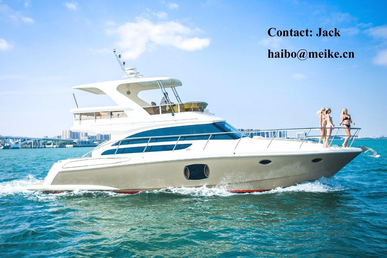 46′ Luxury Yacht Fiberglass Hangtong Borose 46 Factory-Direct Customizable