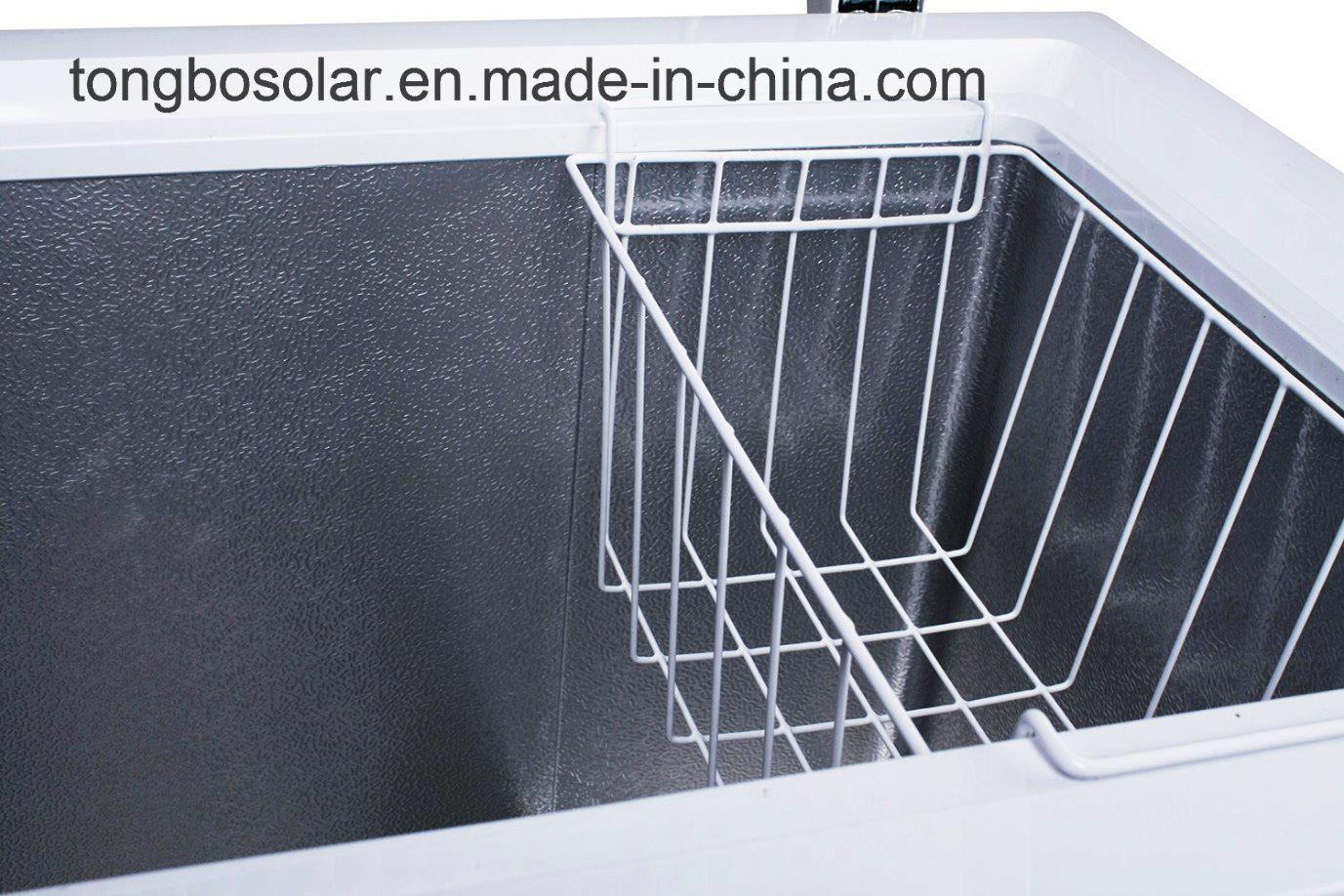 DC 12V 24V Solar Freezer Commercial Chest Freezer 354L