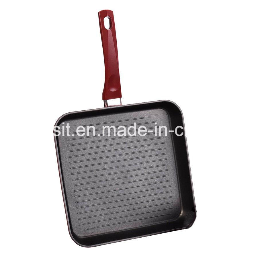 Xylan Nonstick Coated Aluminium Pots and Pans Cookware Set