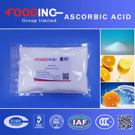 Essential Food Ingredient Ascorbic Acid Coated