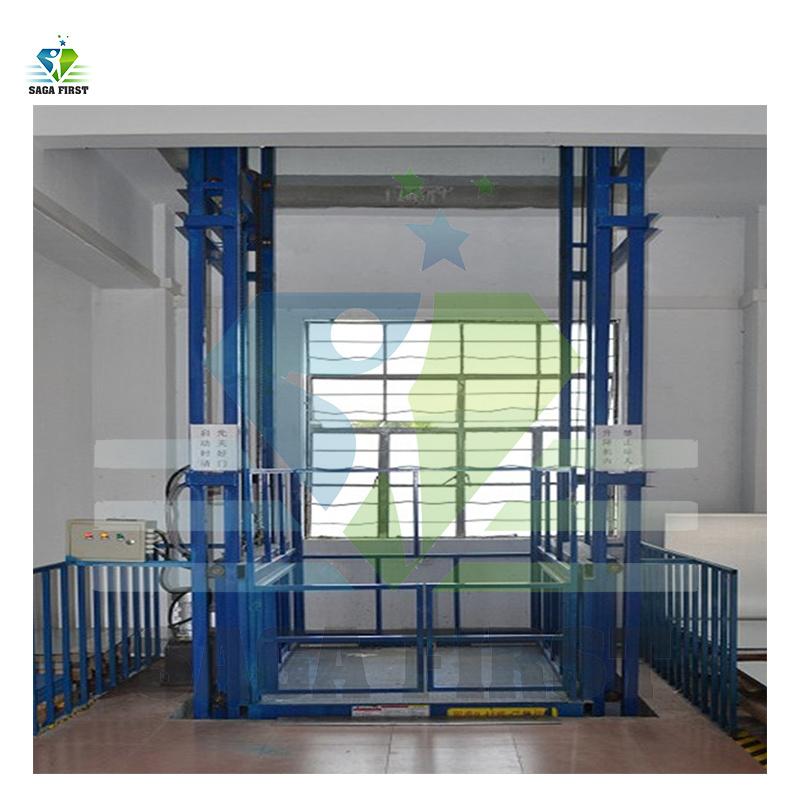 6m 300kg Hydraulic Home Vertical Goods M...