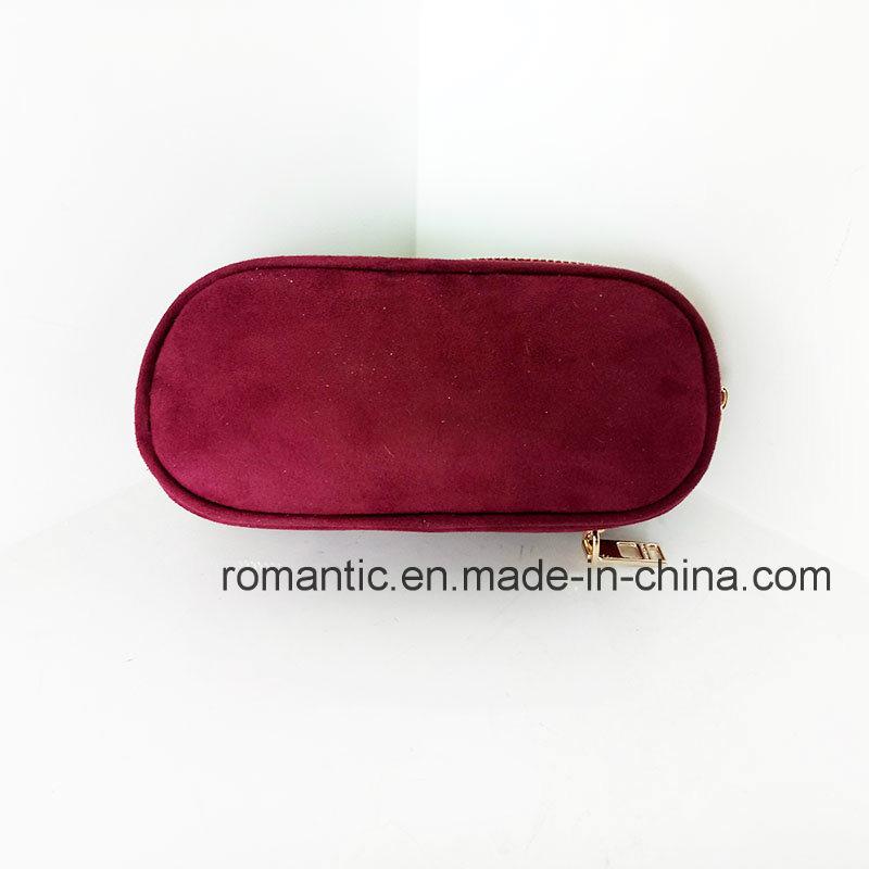 Promotional Lady Fur Leather Wallet Women Genuine Purse (NMDK-041301)