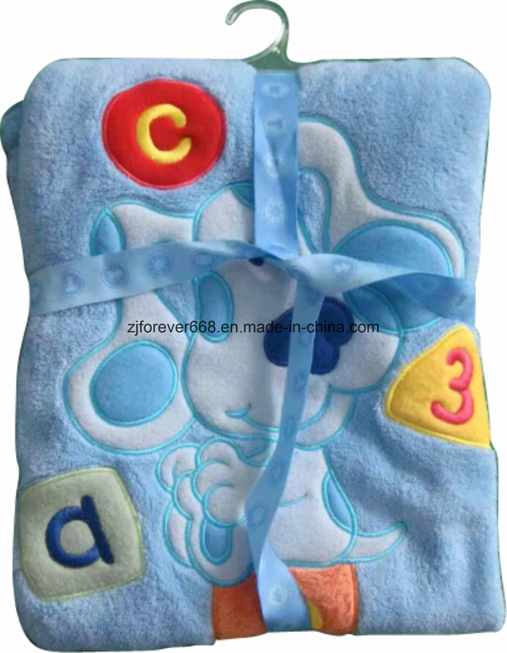 High Quality Soft Feeling Printed Toy and Baby Fleece Blanket
