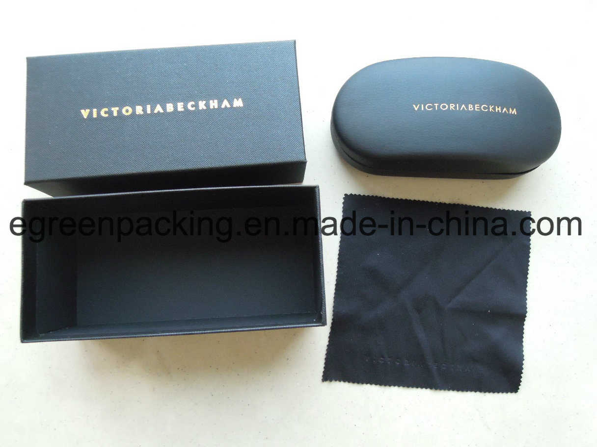 Spectacle Sunglasses Case (microfiber cloth/bag/paper box) (SS12)