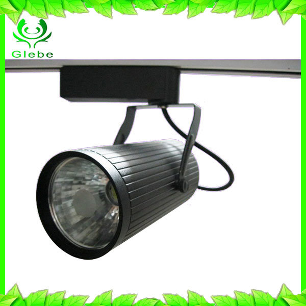 New design Lighting Track Energy Saving 80% 3-30W LED Track Spot Light