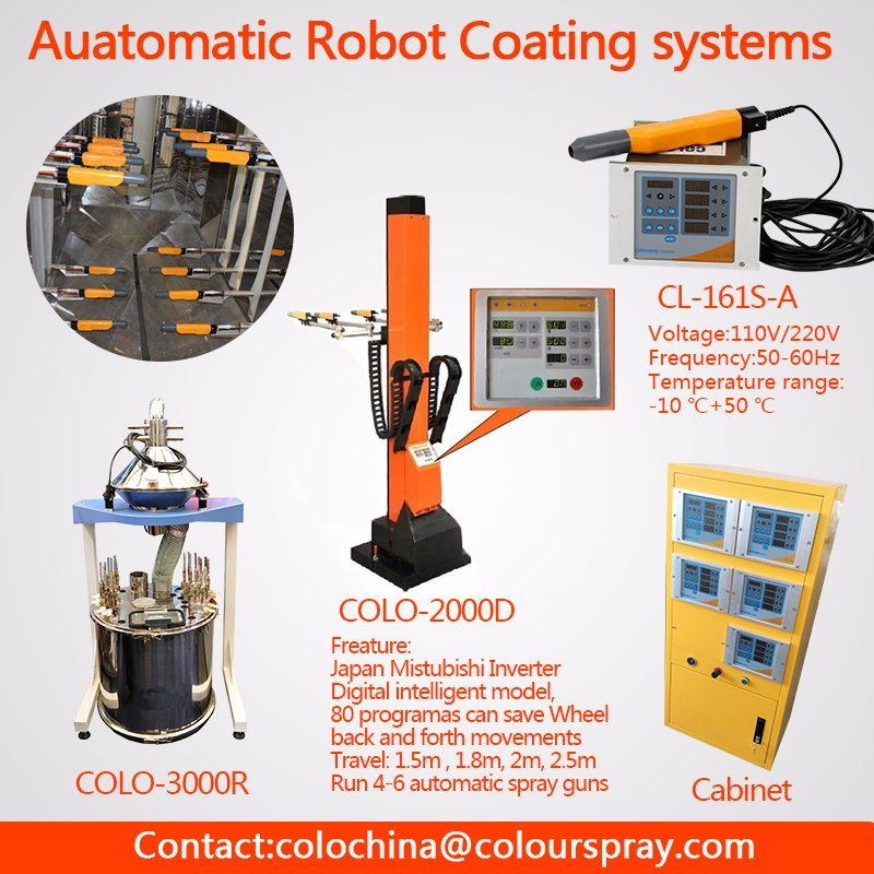Automatic Electrostatic Powder Coat Painting Spray Systems for Door