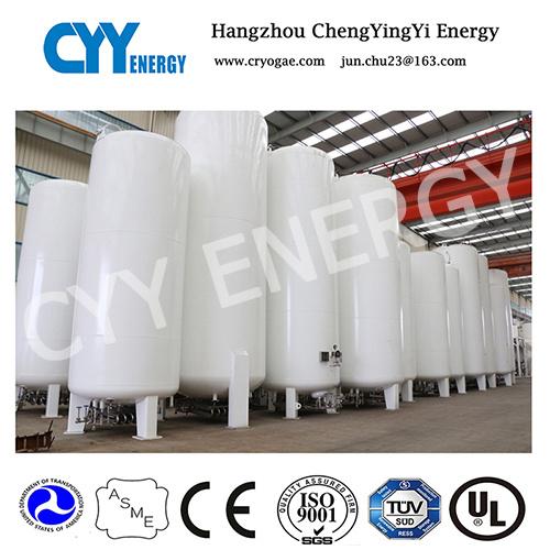 50m3 Liquid Oxygen Nitrogen Argon Carbon Dioxide LNG LPG Water Storage Tank