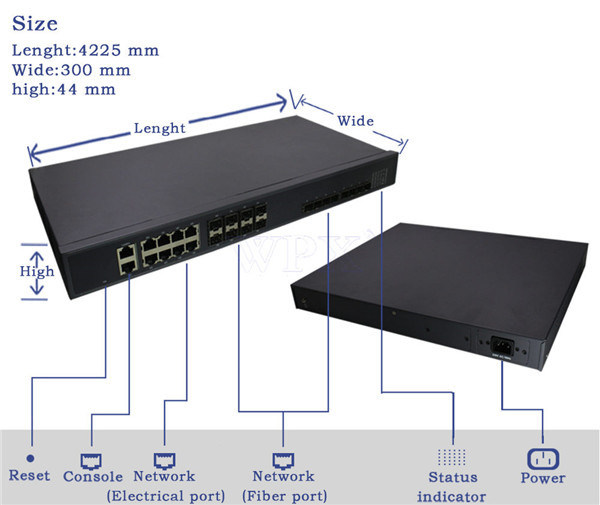 8 Port Gepon Olt System