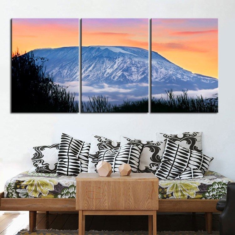 Wall Hanging Wholesale Stretched Canvas Art Print Canvas Oil Painting