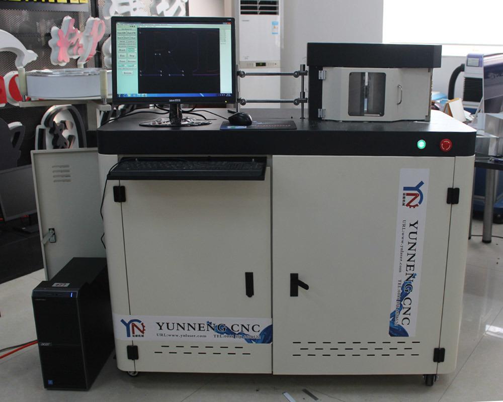 3D Aluminum Channel Letter Fabrication Bending Machine