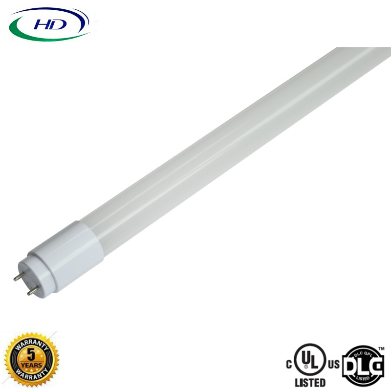 12W Ballast Compatible Nano Plastic LED Tube Light Type A+B