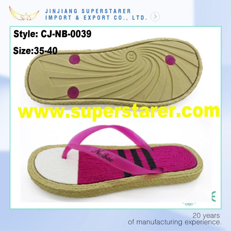 Cheap Printed Sole Ladies Flip Flops EVA Women Shoes Sandals
