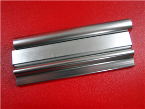 6063t5 Bright Anodised Natural Color Aluminium Extrusion Profile