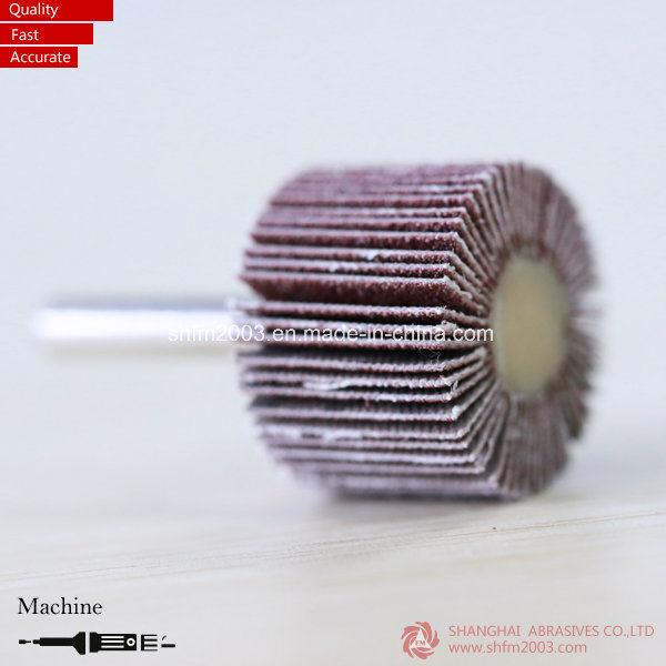 30*15*6mm, P80 Aluminum Oxide Mounted Abrasives Wheels