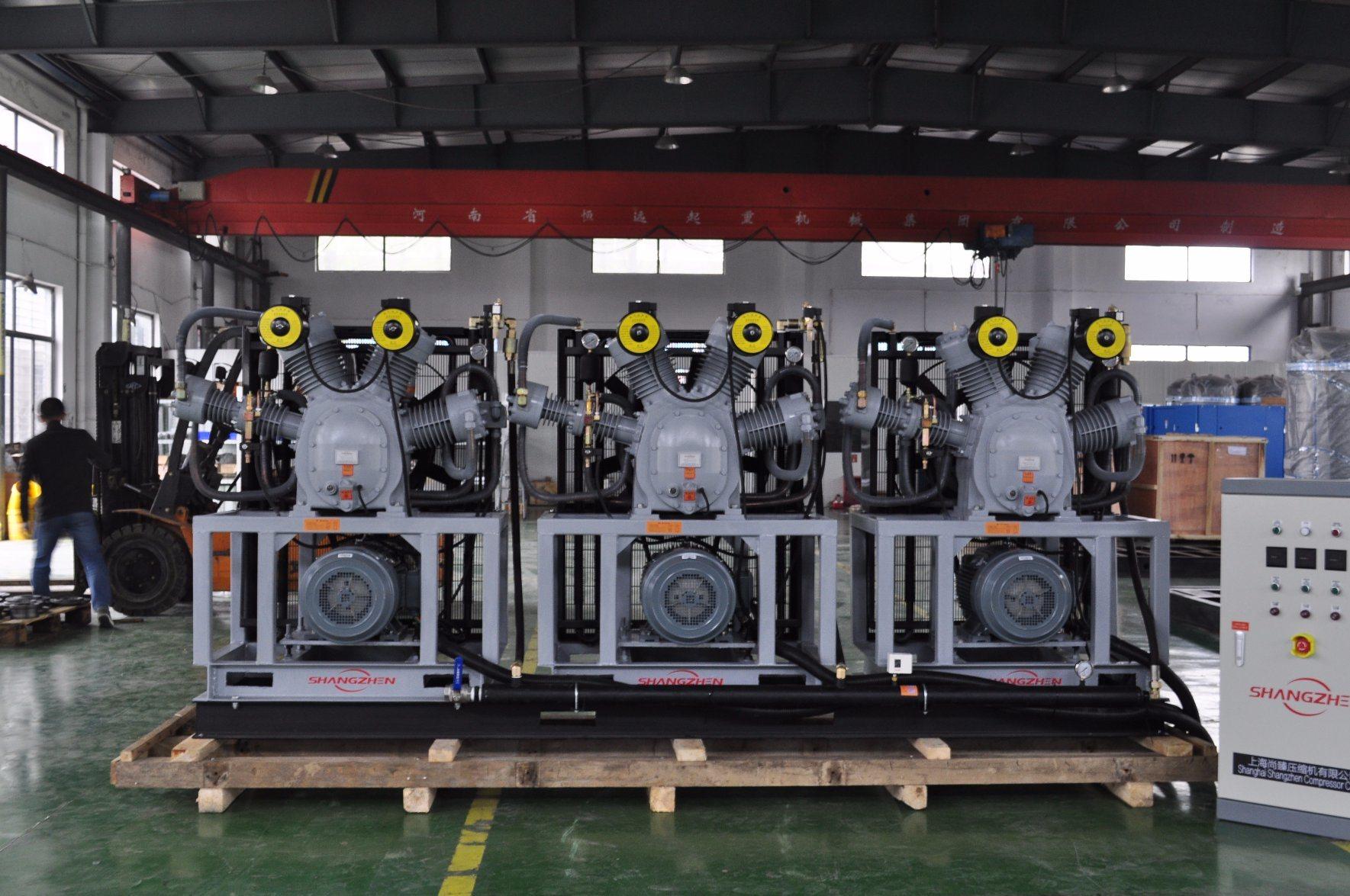 3-Sh-6/40 6.0m3/Min 30bar 35bar 40bar Pet Bottle-Blowing Air Compressor Medium- High Pressure Air Compressor
