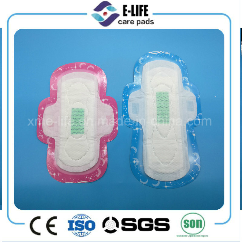 Negative Ion Core Sanitary Napkin Factory with Competitive Price