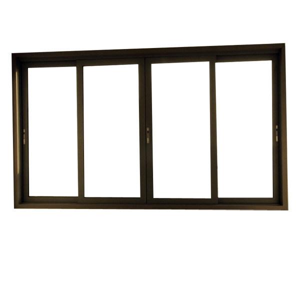 Aluminum Frame Casement Outward or Inward Opening Glass Swing Window