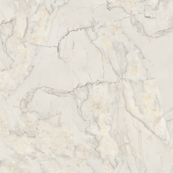 Snow White Design Low Water Absorption Polished Porcelain Glazed Tile