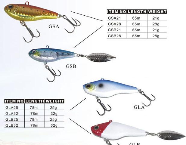 Fishing Equipment Fishing Tackle Fishing Lure (GSA28)