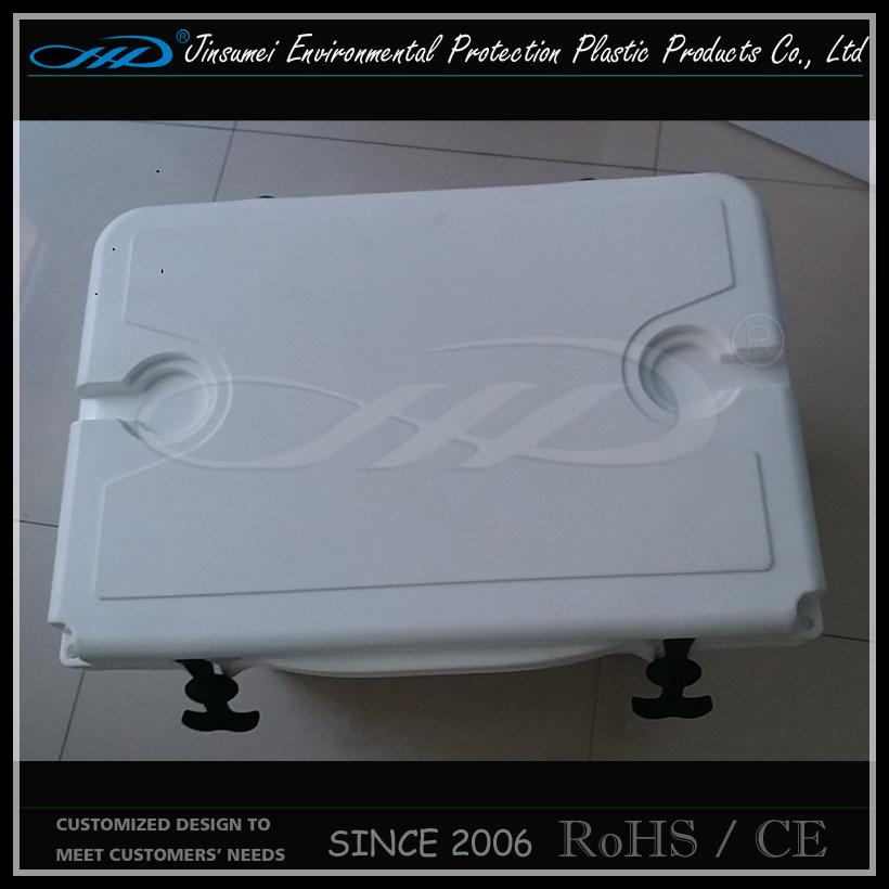 Rotomolding Plastic Insulated Food Plastic Cooler Box