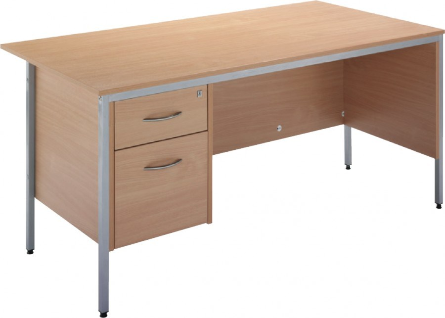 2 Drawers School Teaching Office Furniture MDF Computer Desk (NS-ND114)