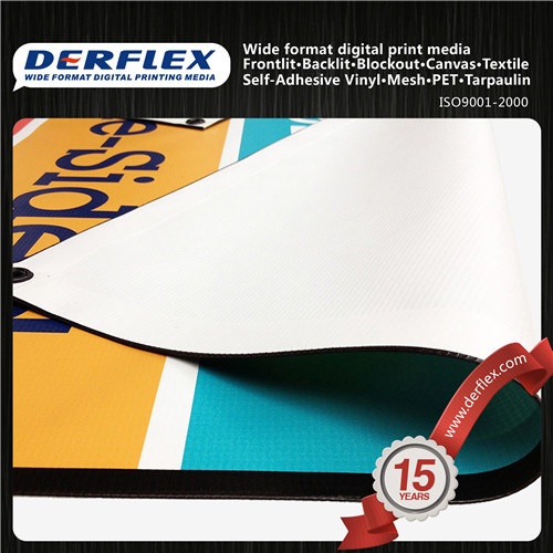 Blockout Frontlit Flex Banner Double Side Printable