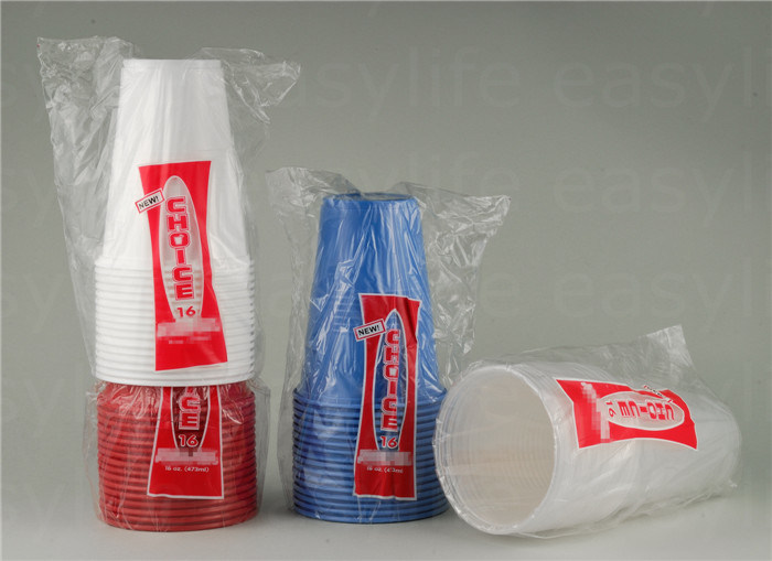 16oz (500ml) C1695120 Disposable Plastic Cup