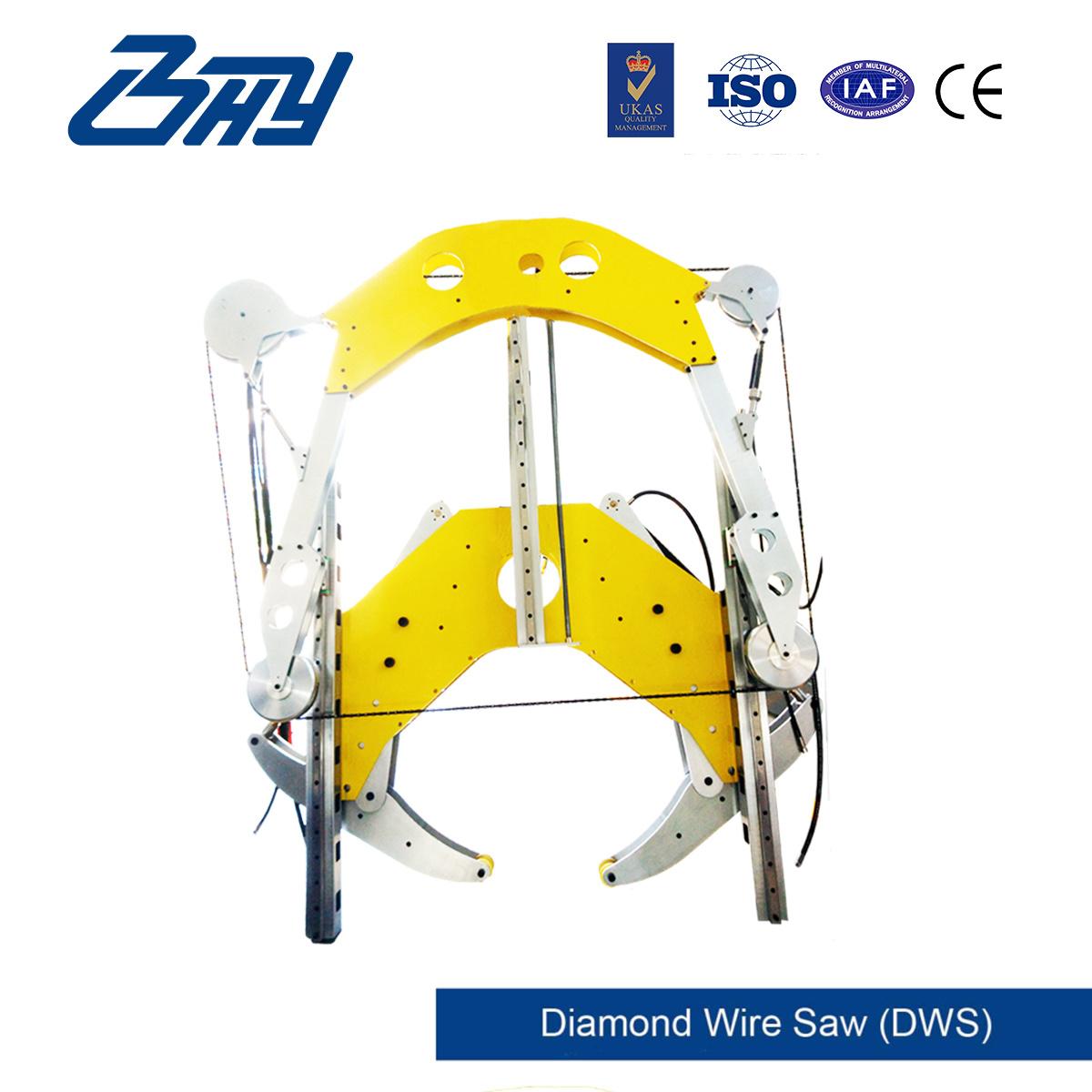 Hydraulic Diamond Wire Saw/Pipe Cutting Machine (DWS1230)