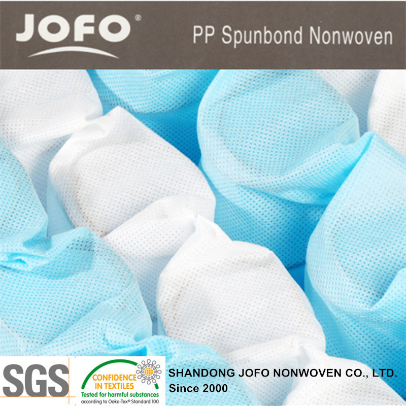 PP Spunbond Nonwoven Fabric for Bed or Sofa Spring Pocket